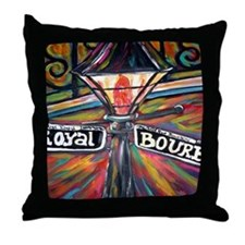 New Orleans Nite Lite Throw Pillow