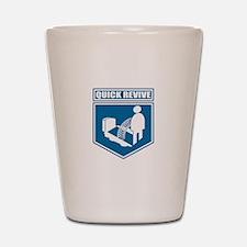 Quick Revive Shot Glass