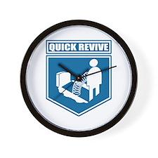 Quick Revive Wall Clock