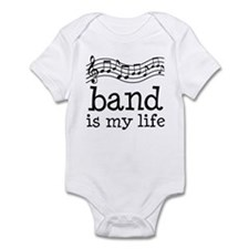 Band is My Life Music Gift Infant Bodysuit