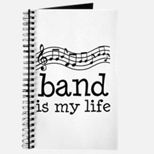 Band is My Life Music Gift Journal