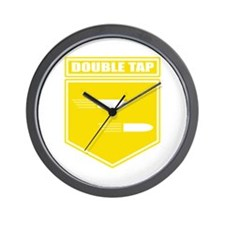 Double Tap Root Beer Wall Clock