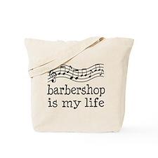 Barbershop Is My Life Gift Tote Bag