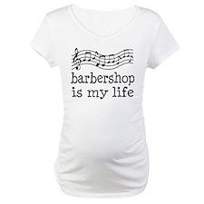 Barbershop Is My Life Gift Shirt