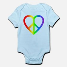 Peace and Love Infant Bodysuit