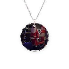 Santa Christmas Necklace