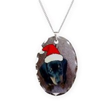 Chewey Christmas Necklace