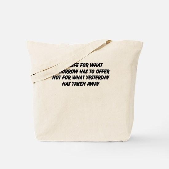 Cute Past future Tote Bag