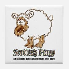 Scottish Pimp Tile Coaster