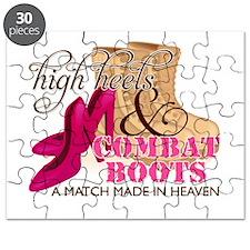 High Heels & Combat Boots (D Puzzle