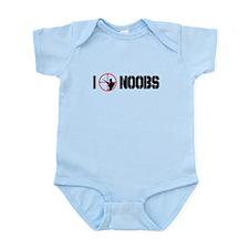 I Kill Noobs Infant Bodysuit