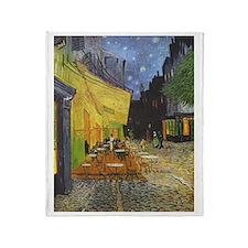 Night Cafe, van Gogh Throw Blanket