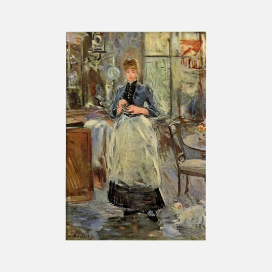 Artist -- Berthe Morisot Rectangle Magnet