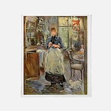 Artist -- Berthe Morisot Throw Blanket