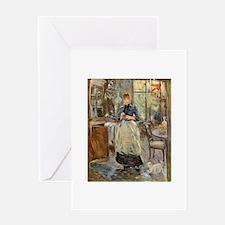 Artist -- Berthe Morisot Greeting Card