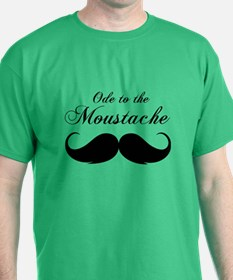 Ode to the moustache T-Shirt