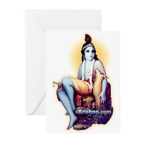 Jai Krishna Greeting Cards (Pk of 10)