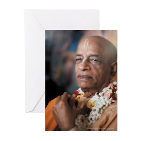 Srila Prabhupada [Cover] Greeting Cards (Pk of 10)