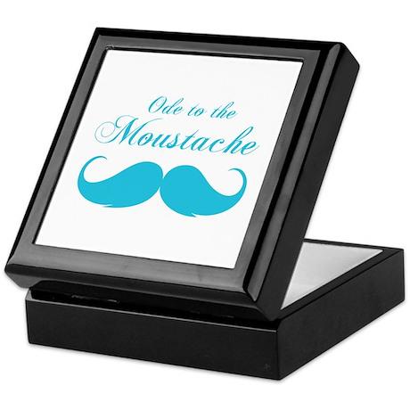 Ode to the moustache Keepsake Box
