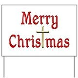 Merry christmas Yard Signs