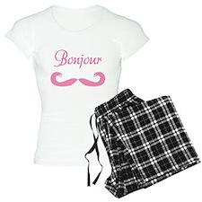 Bonjour Moustache Pajamas