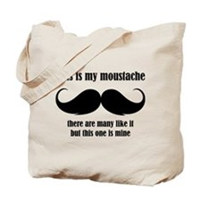 This is my moustache Tote Bag