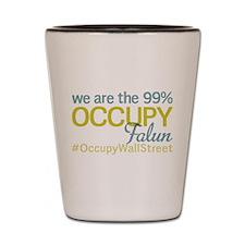 Occupy Falun Shot Glass