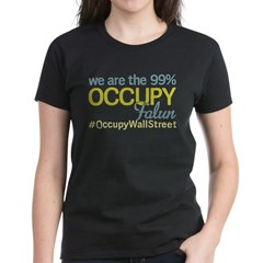 Occupy Falun Women's Dark T-Shirt