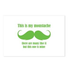 This is my moustache Postcards (Package of 8)