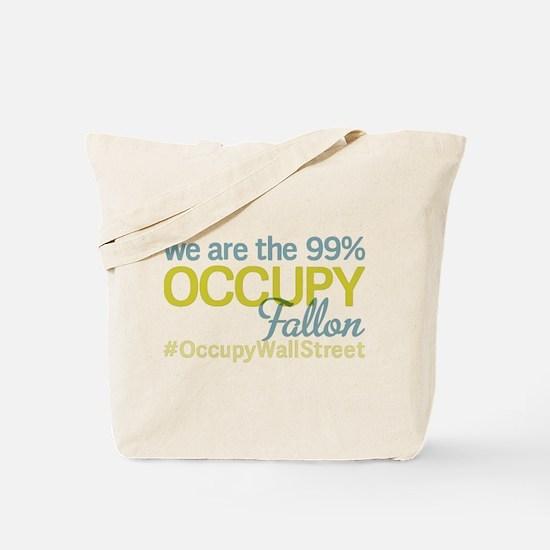 Occupy Fallon Tote Bag