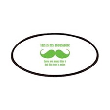 This is my moustache Patches