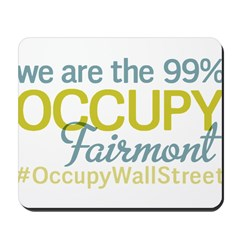 Occupy Fairmont Mousepad