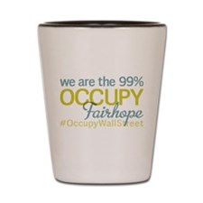 Occupy Fairhope Shot Glass