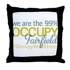 Occupy Fairfield Throw Pillow