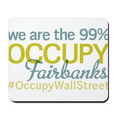 Occupy Fairbanks Mousepad