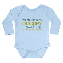 Occupy Fairbanks Long Sleeve Infant Bodysuit