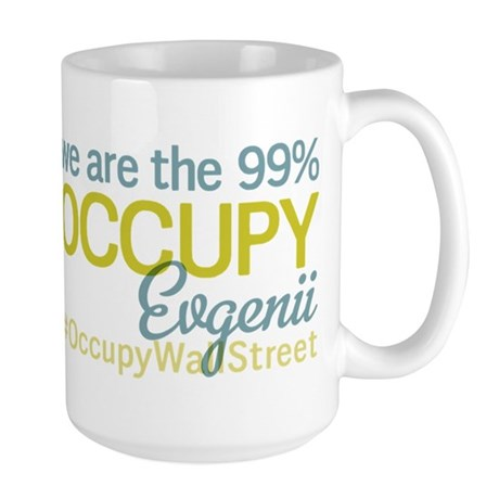 Occupy Evgenii Kravchenko Large Mug