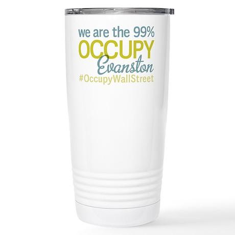 Occupy Evanston Stainless Steel Travel Mug