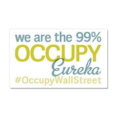 Occupy Eureka Car Magnet 20 x 12