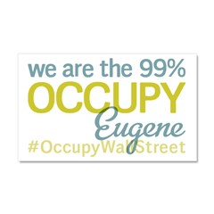 Occupy Eugene Car Magnet 20 x 12