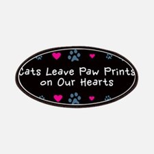Cats Leave Paw Prints Patches