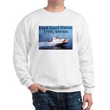 Sweatshirt: Coast Guard Station Tybee GA
