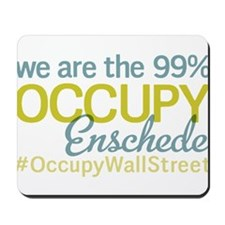Occupy Enschede Mousepad