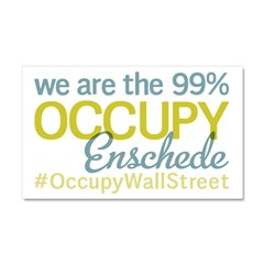 Occupy Enschede Car Magnet 20 x 12
