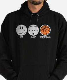 Eat Sleep Basketball Hoodie