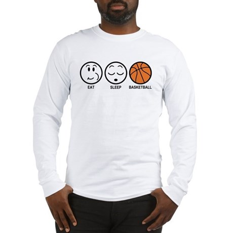 Eat Sleep Basketball Long Sleeve T-Shirt
