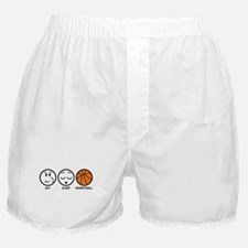 Eat Sleep Basketball Boxer Shorts