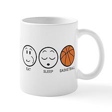 Eat Sleep Basketball Mug