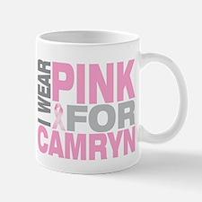 I wear pink for Camryn Mug