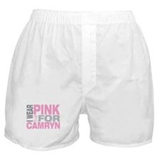 I wear pink for Camryn Boxer Shorts